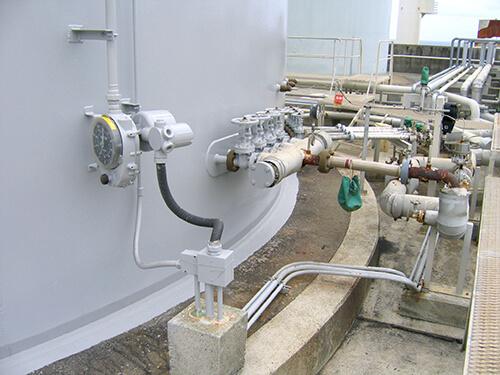 新知名発電所重油貯蔵タンク点検修繕工事1